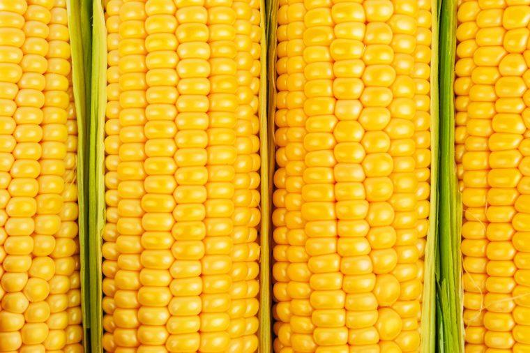 ripe corn as a texture