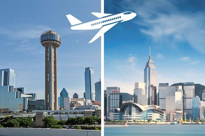 longest nonstop flights dallas to hong kong