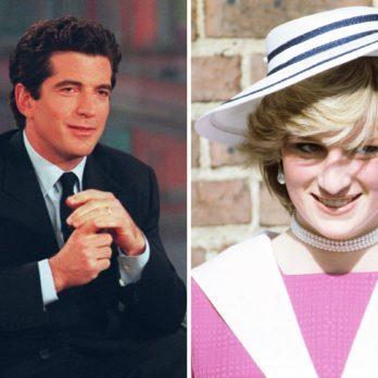 The Real Reason Princess Diana Secretly Met JFK's Son