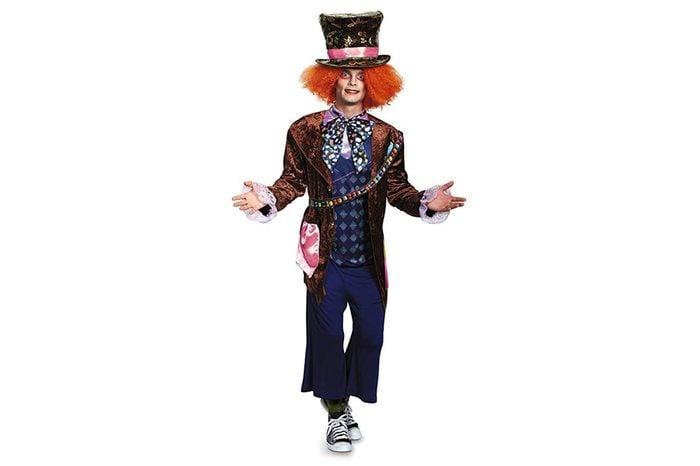 Disguise Men's Alice Mad Hatter Deluxe Costume