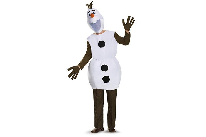 Disguise Men's Olaf Deluxe Adult Costume