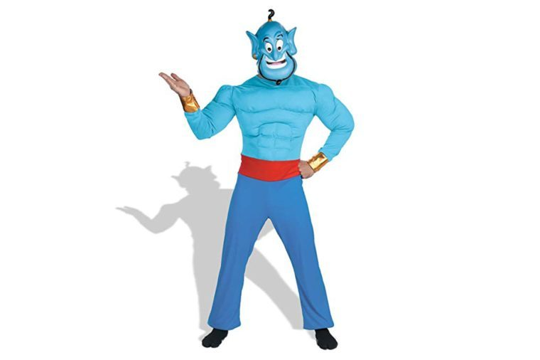 Disney Disguise Men's Aladdin Genie Muscle Costume