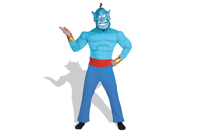 Disney Disguise Men's Aladdin Genie Muscle Costume