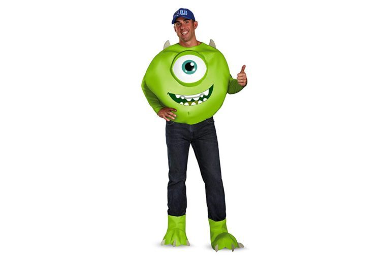 Disney Disguise Men's Pixar Monsters University Mike Deluxe Costume