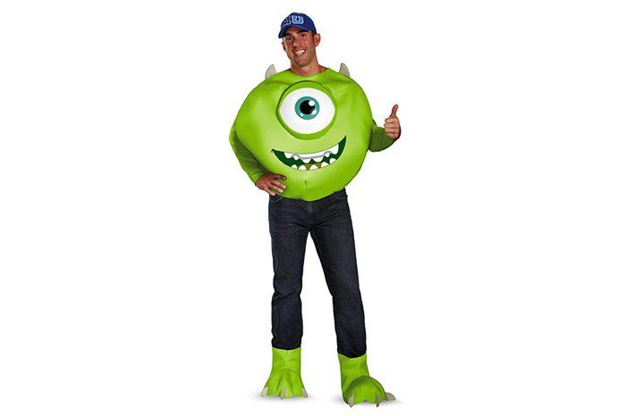 Disney Disguise Men's Pixar Monsters University Mike Deluxe Costume