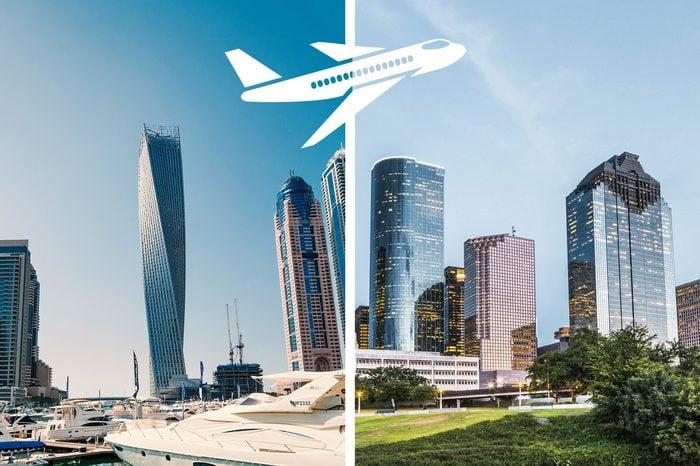 longest nonstop flights dubai to houston
