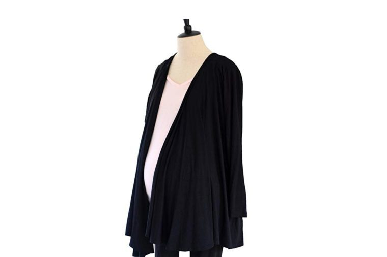 goodbody goodmommy Two-in-one Nursing Cover and Cardigan for Maternity, Breastfeeding and Pumping by
