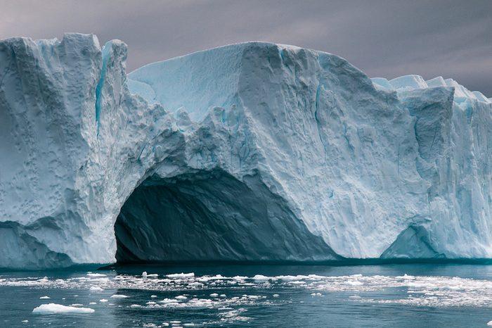 Greenland - Jakobshavn Glacier. It is located near the Greenlandic town of Ilulissat.