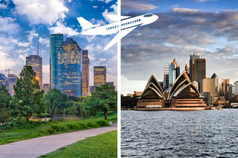 longest nonstop flights houston to sydney
