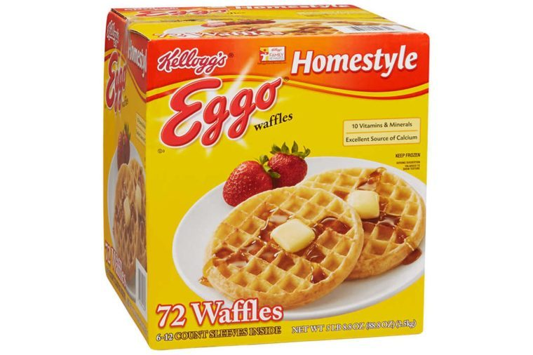 Kellogg's Eggo Homestyle Waffles, 72 ct