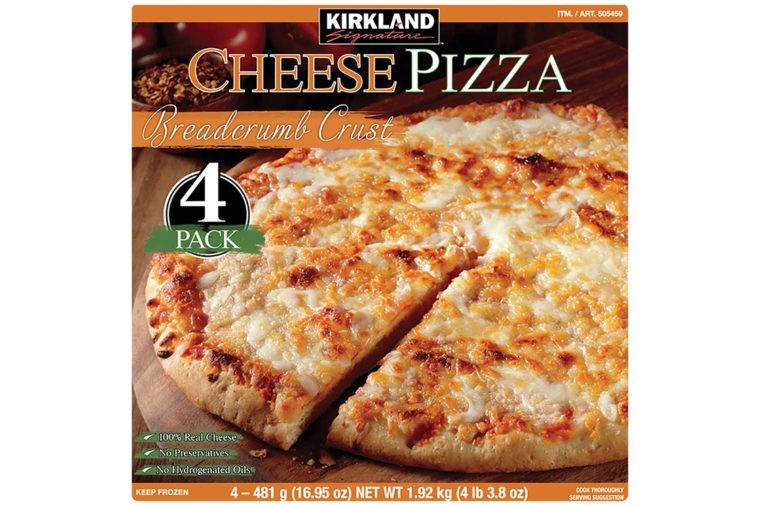 Kirkland-Signature-10.5'-Pizza,-Cheese,-4-ct