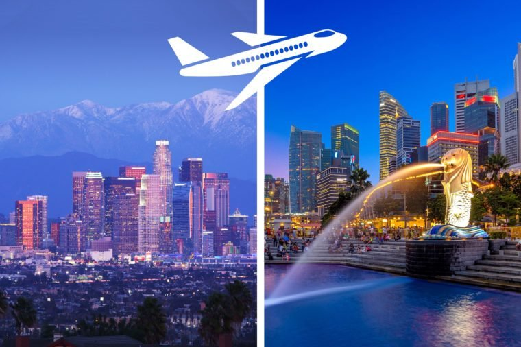 longest nonstop flights los angeles to singapore