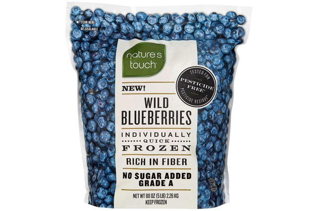 Nature's Touch Wild Blueberries, 5 lbs