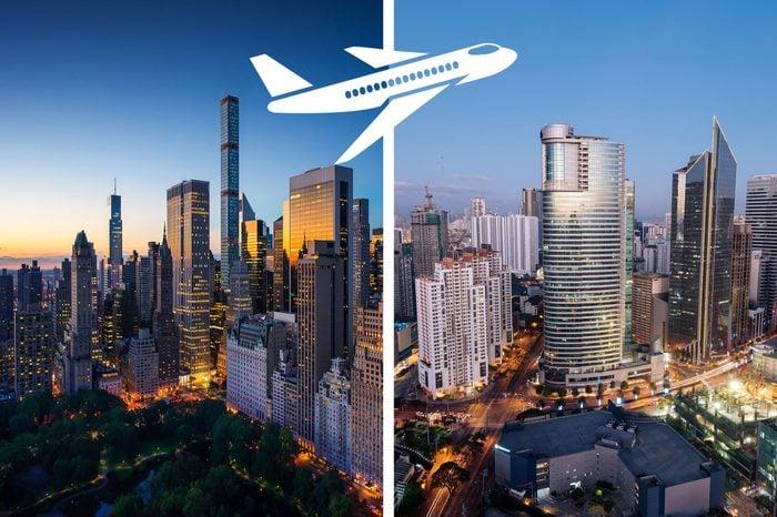 longest nonstop flights new york to manila