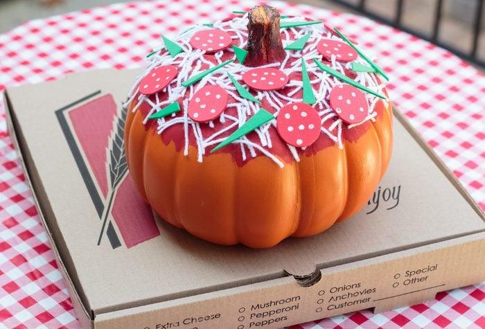 Pizza pumpkin