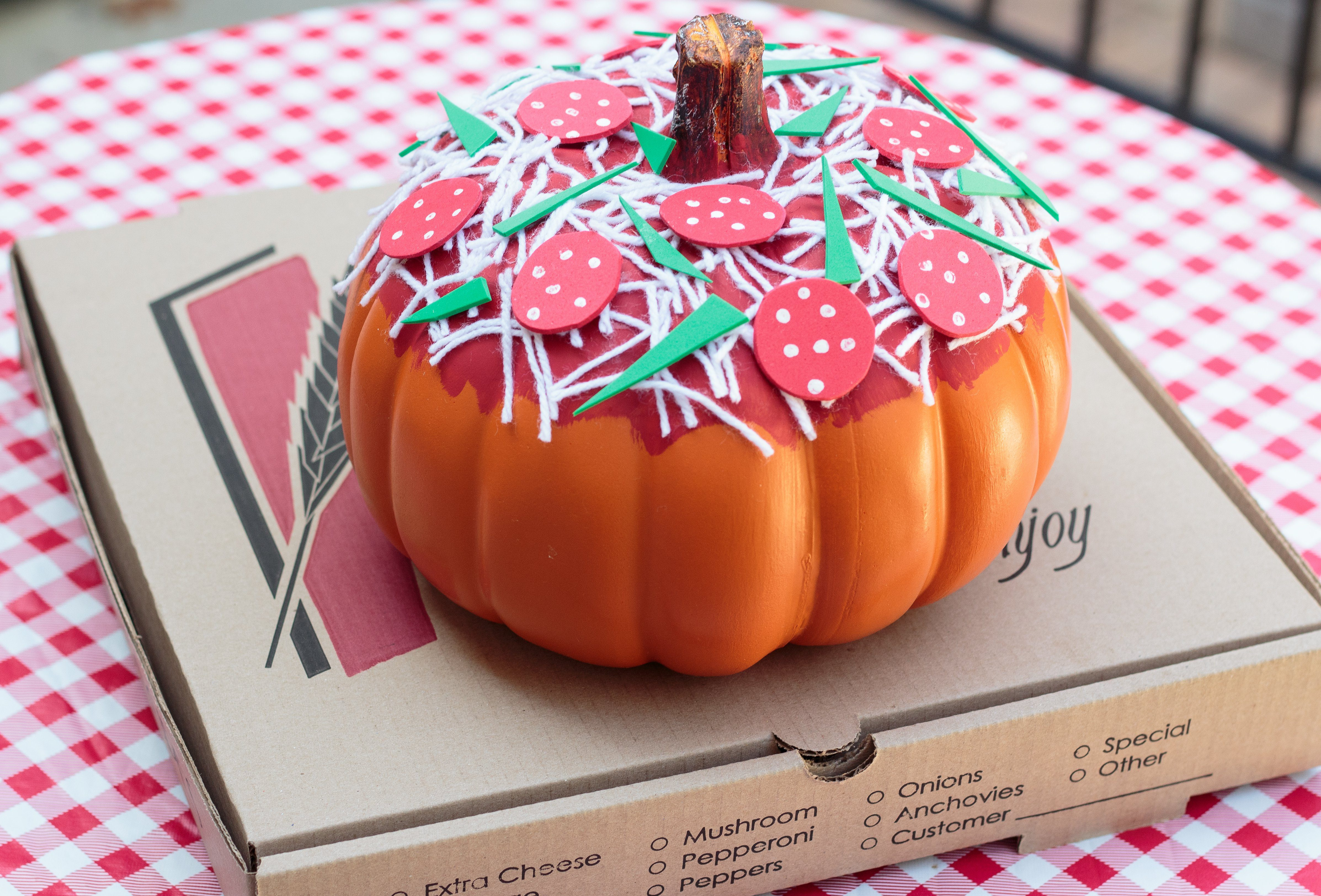 Pizza pumpkin
