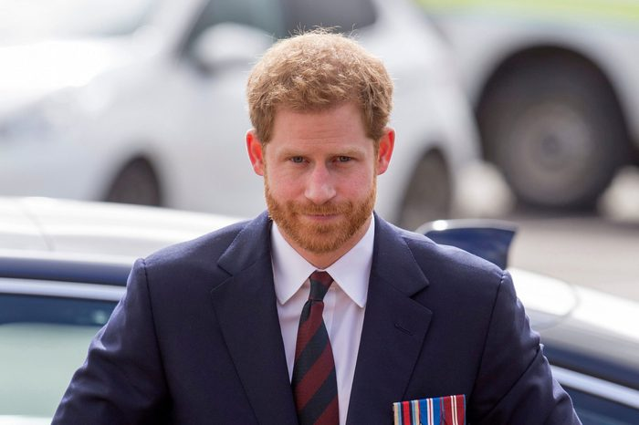 Prince Harry presents Army Air Corps Pilots' Wings, Museum Of Army Flying, Middle Wallop, Hampshire, UK - 16 Mar 2018