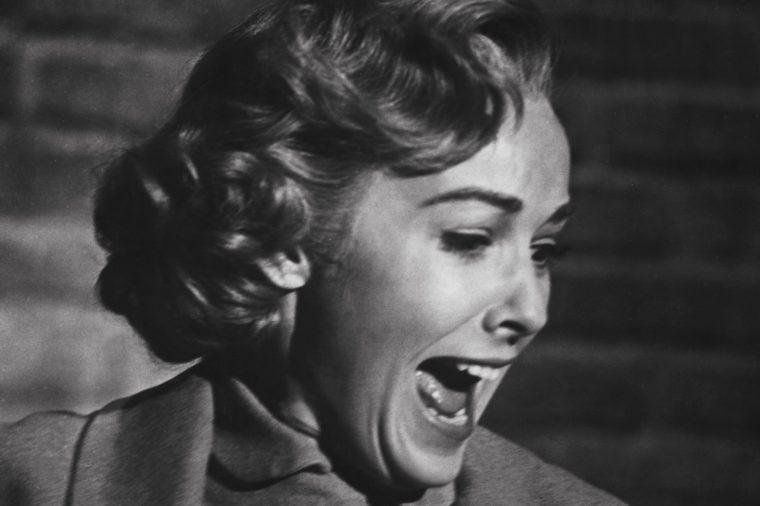 Vera Miles scream Psycho