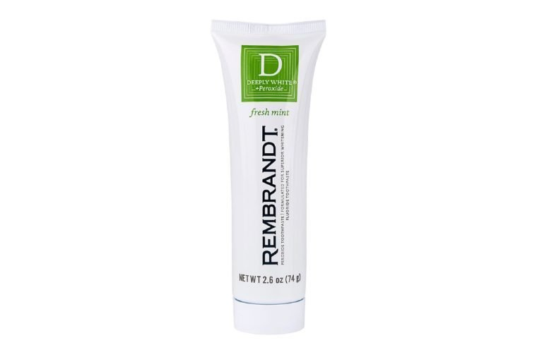 Rembrandt Deeply White & Peroxide Whitening Toothpaste