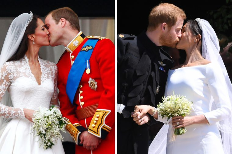 William and Kate, Meghan and Harry