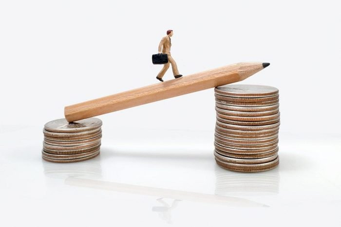 business man miniature figure concept move to success business finance and marketing