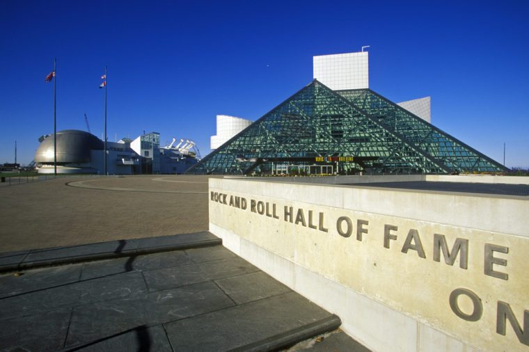 JANUARY 2005 - Rock and Roll Hall of Fame Museum, Cleveland, OH