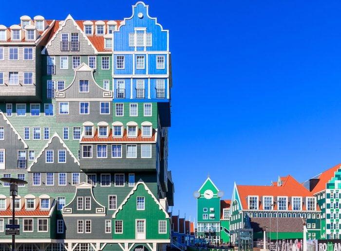 Zaandam, Netherlands, May 08, 2018: The Inntel Hotels in Zaandam