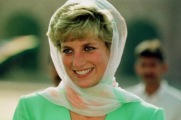Princess Diana Pakistan 1992.pic Mike Forster