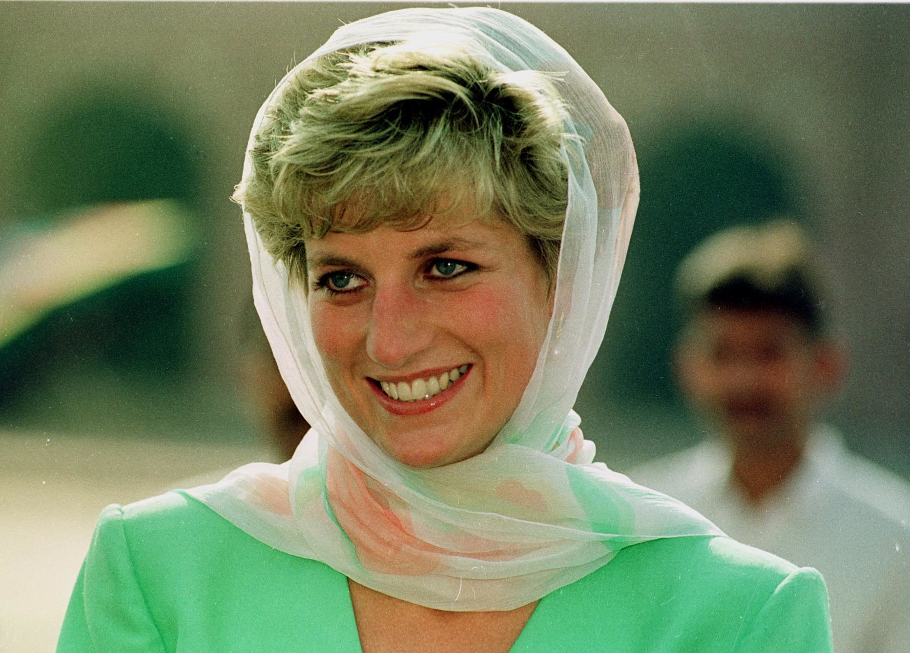 Princess Diana Pakistan 1992.pic Mike Forster