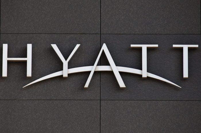 Hyatt Sign
