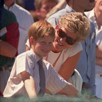 15 Rarely Seen Photos of Prince Harry with Princess Diana
