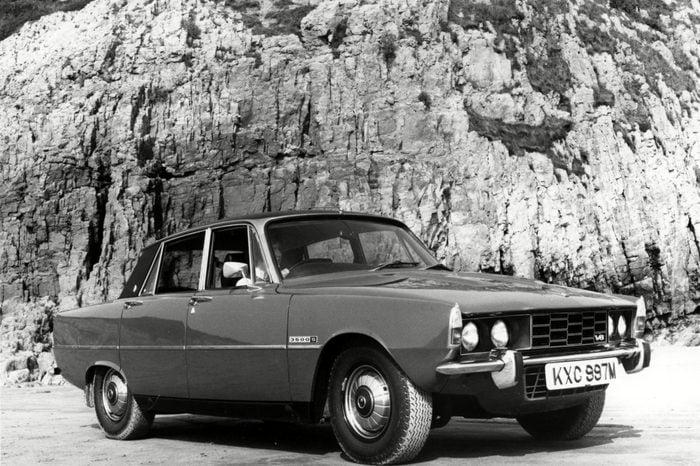 VARIOUS 1973 Rover P6 3500 Publicity shot