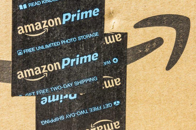 Amazon Prime Parcel Package