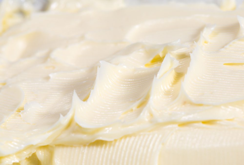 fresh creamy dairy milky high-calorie fat butter closeup