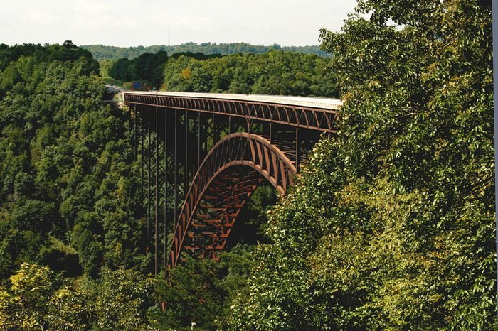 New River Gorge Bridge 1Resubmission. Reworked the photo. Focus at center of bridge is clear. Histogram looks great.