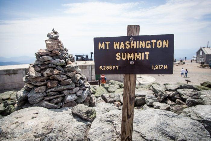 Mount Washington Summit New Hampshire