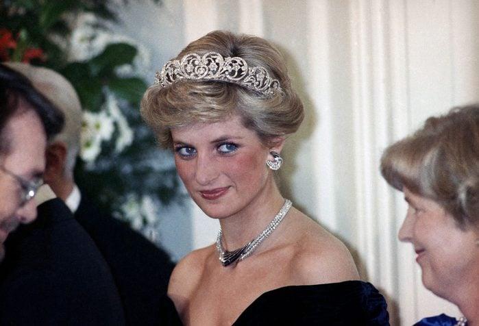 British Royalty Princess Diana Jewelry Diadem, Bonn, Germany