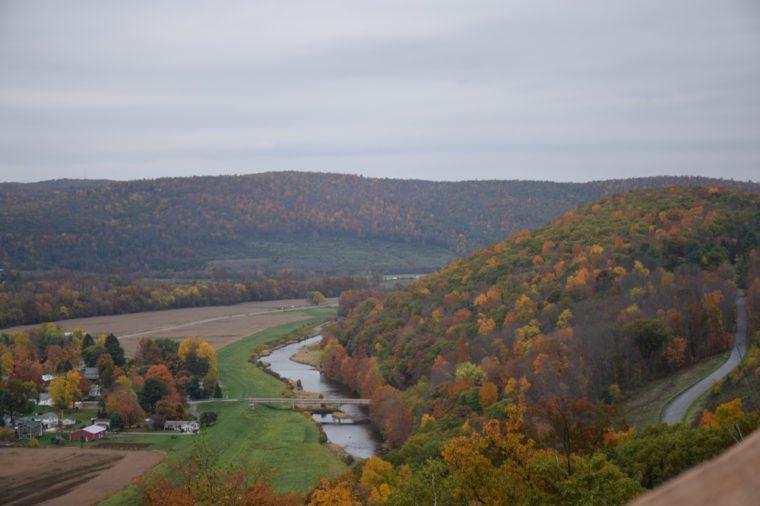 Pennsylvania mountains in Autumn