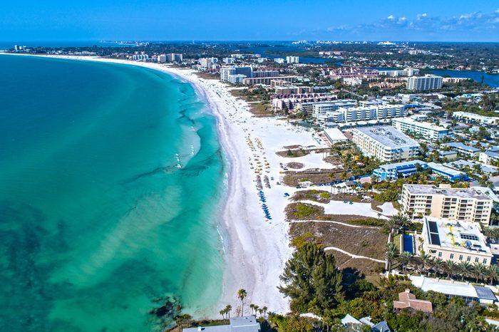 Siesta Key Beach in Sarasota, FL #1 Beach in the USA