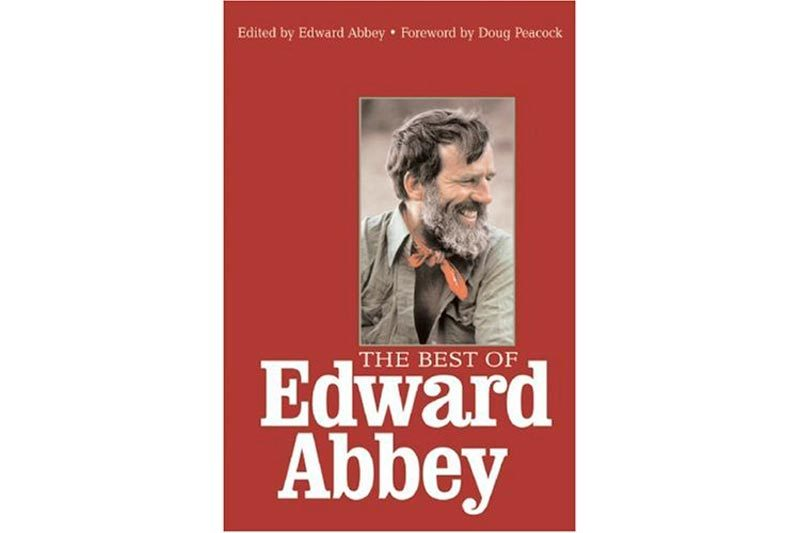 the best of edward abbey book cover