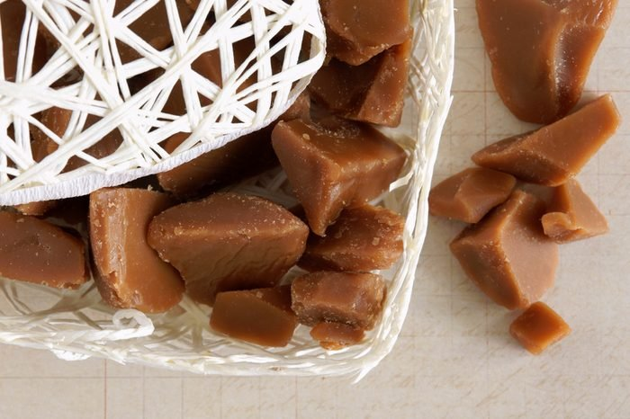Old fashioned English hard toffee