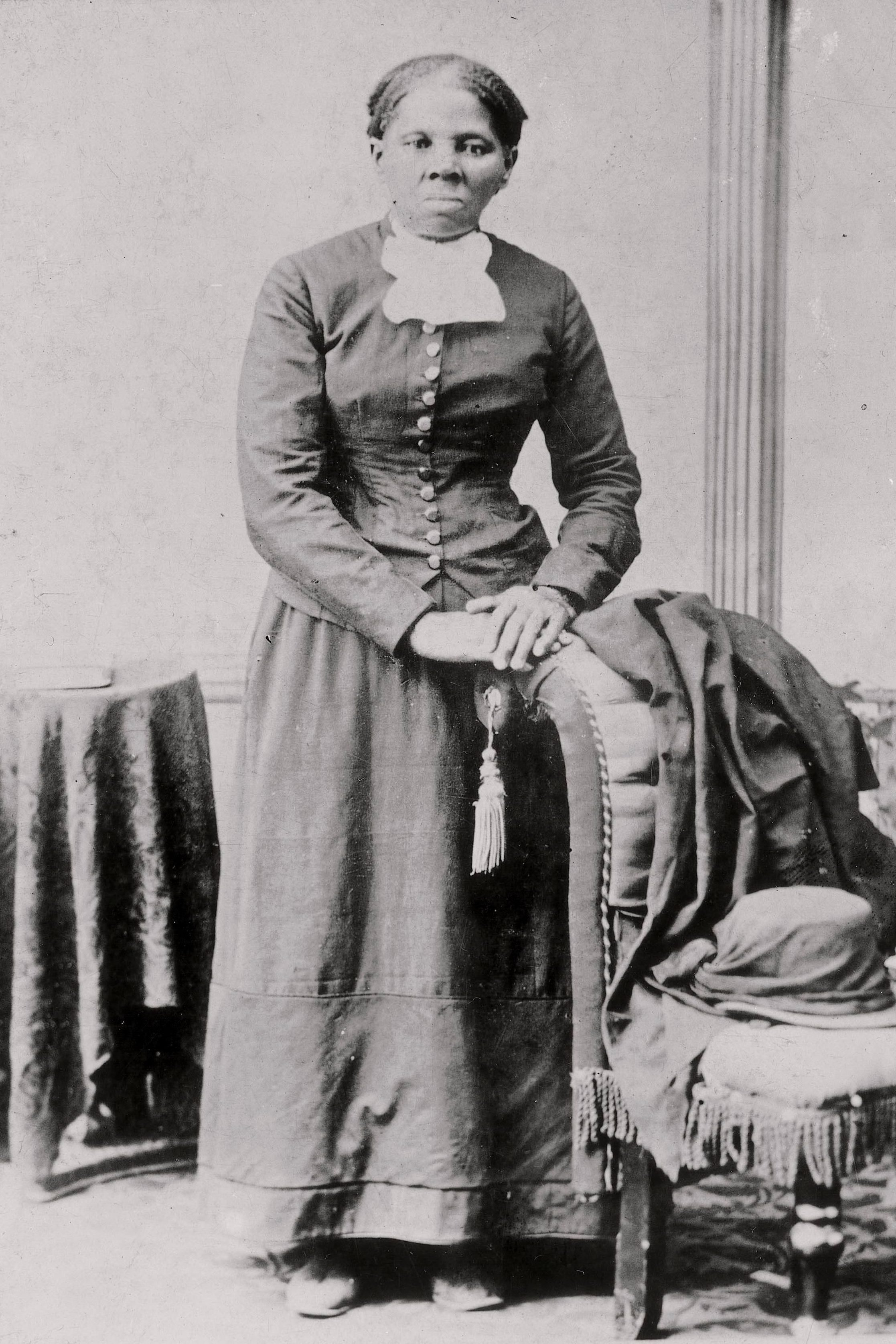 Mandatory Credit: Photo by AP/Shutterstock (9259193a) In this photo provided by the Library of Congress, Harriet Tubman in seen in a photograph dating from 1860-75. Sen. Ben Cardin, D-Md., and Sen. Chris Van Hollen, D-Md. are sponsoring legislation to bring a statue of Harriet Tubman to the U.S. Capitol Building Tubman Statue US Capitol - 19 Apr 2006