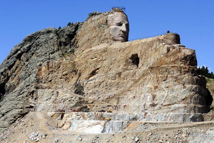 Us South Dakota Crazy Horse Memorial - Aug 2010