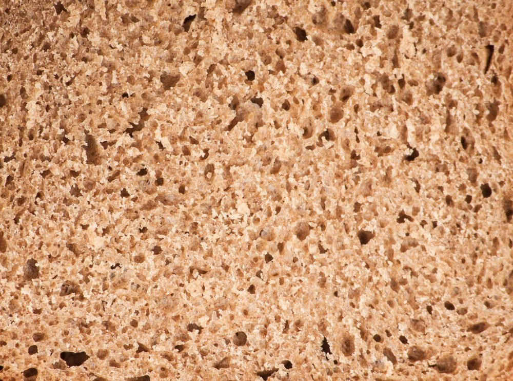 Whole grain bread texture background