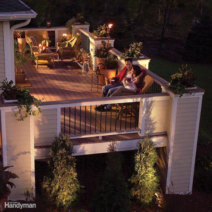 enhance decks with lighting