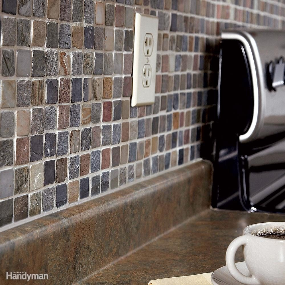install a kitchen backsplash