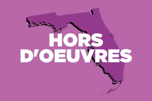 hors d'oeuvres florida
