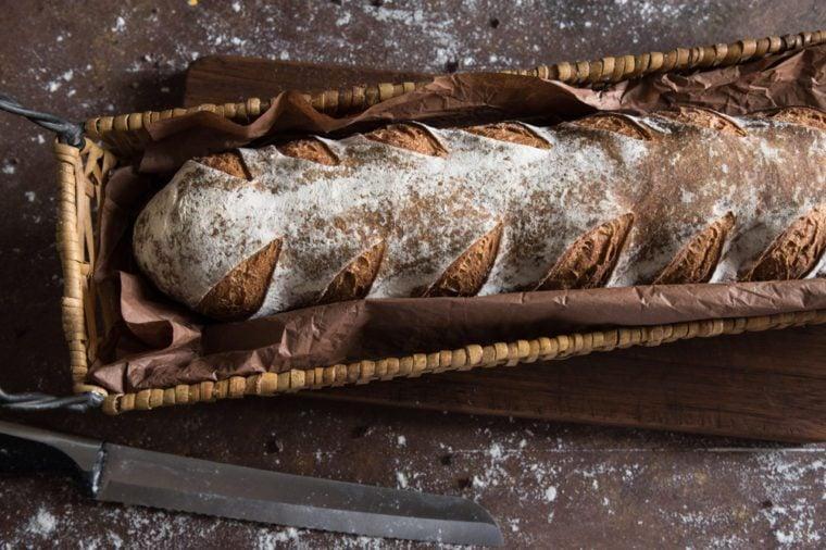 Miche Baguette Bread