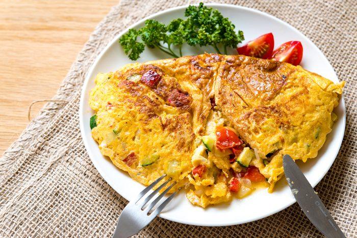 Spanish omelete.Egg dishes.