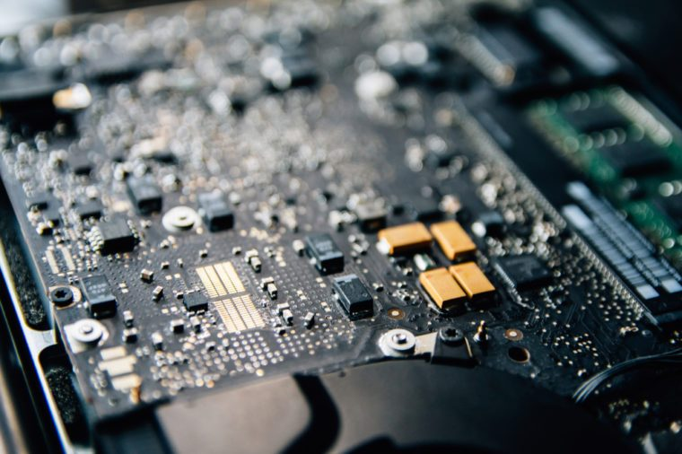 Electronic control panel, Repairs laptop (pc, computer) motherboard. Installs the equipment (cpu) .